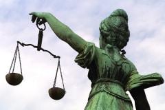 Germany, Frankfurt, Justitce